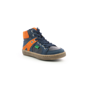 Kickers LOWELL NAVY ORANGE