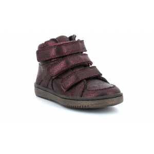 Kickers LOHAN BORDEAUX BRILLANT