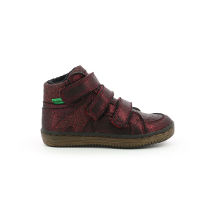Kickers LOHAN BRIGHT BURGUNDY