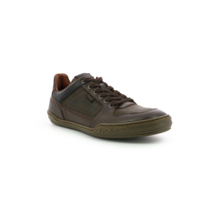 Kickers JUNGLE MARRON FONCE