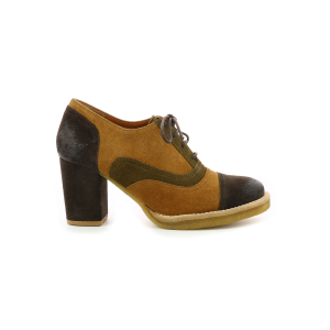 Kickers KICK-REAL CAMEL MARRON MARRON FONCE