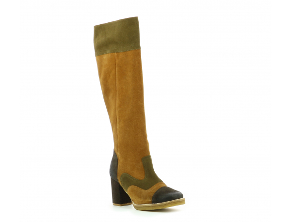 KICK-REVEL CAMEL MARRON KAKI