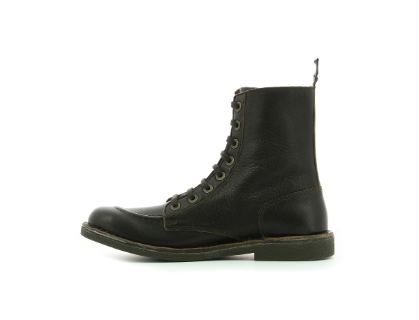 KICKSTONERY ZIP DARK BROWN