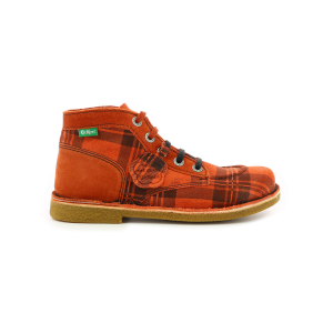 Kickers LEGENDIKNEW ORANGE TARTAN