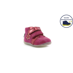 Kickers BANGGY BORDEAUX BRILLANT