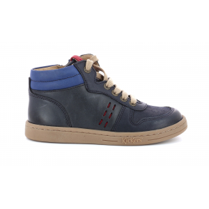 Kickers TACKFLO MARINE BLEU ROUGE