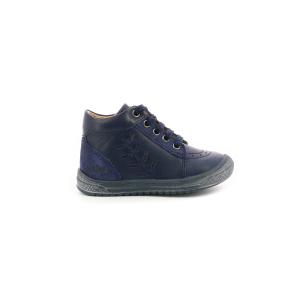 Kickers BILOP METALLISED NAVY