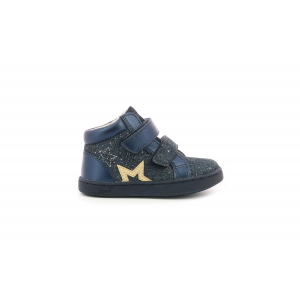 Kickers LILUKRO METALLISED NAVY