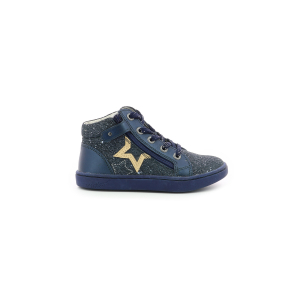 Kickers LILUSTAR METALLISED NAVY