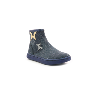 Kickers LYBOOSTAR METALLISED NAVY
