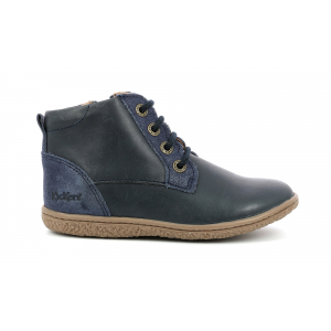 Kickers VETIGO METALLISED NAVY
