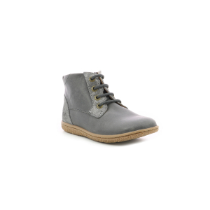 Kickers VETIGO METALLISED GREY SILVER
