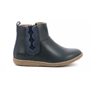 Kickers VETUDI METALLISED NAVY