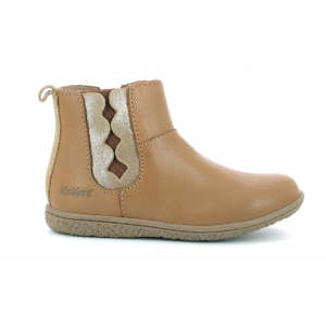 Kickers VETUDI METALLISED CAMEL GOLD