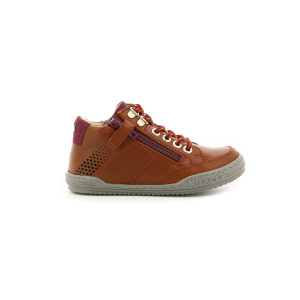 Kickers JOULA BROWN BURGUNDY
