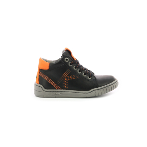 Kickers WINAXO NOIR ORANGE