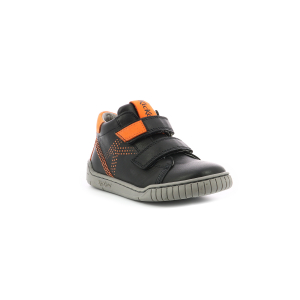 Kickers WINOPO NOIR ORANGE
