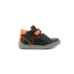 Kickers WINOPO BLACK ORANGE