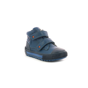Kickers PIRLCRO BLEU MARINE ORANGE