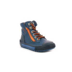 Kickers PIRLZIP BLUE NAVY ORANGE