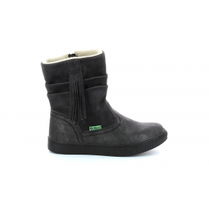 Kickers RUMBY BRIGHT BLACK