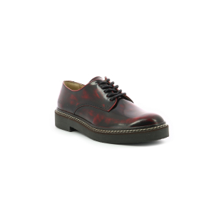Kickers OXFORK RED BLACK