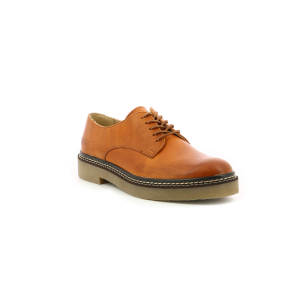 Kickers OXFORK CAMEL ORANGE FEMME