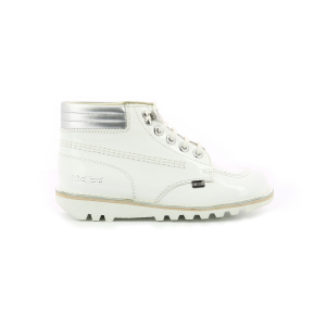 Kickers KICK THROWBACK BLANC ARGENT