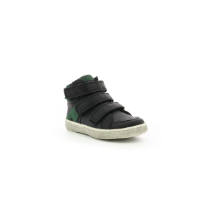 Kickers LOHAN BLACK GREEN