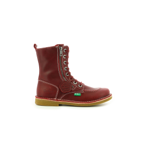 Kickers MEETICKZIP DARK RED