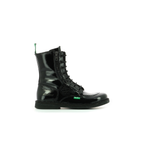 Kickers MEETICKZIP PATENT BLACK