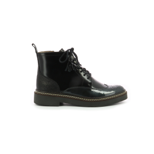 Kickers OXANYHIGH BLACK SILVER