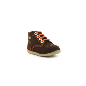 Kickers BONBON MARRON FONCE ORANGE