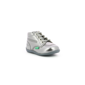 Kickers BILLYZIP-2 METALLISED SILVER