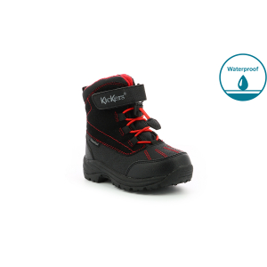 Kickers JUMP WPF BLACK RED