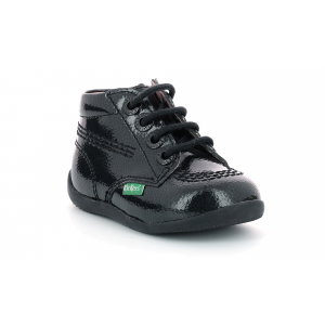 Kickers BILLISTA ZIP BLACK PERM PATENT