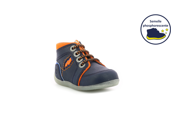 BINS BANG NAVY ORANGE