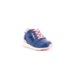 Kickers DENVER MID BLEU ROSE