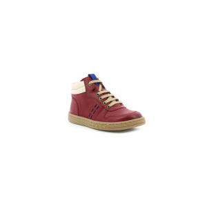 Kickers TACKFLO BURGUNDY WHITE BLUE