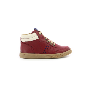 Kickers TACKFLO BORDEAUX BLANC BLEU
