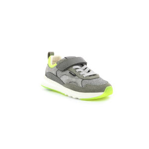 Kickers KIWYVELC CDT GREY SILVER GREEN