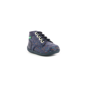 Kickers BONBON-2 NAVY DOTS MULTICO