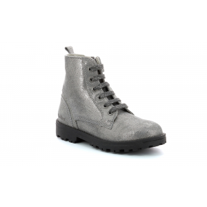 Kickers GROOKE METALLISED SILVER