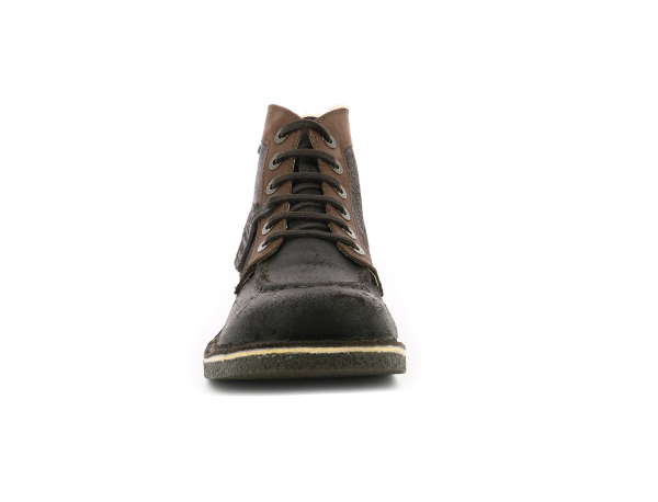 KICKSTONER DARK BROWN
