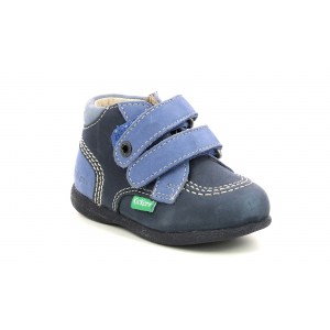 Kickers BABYSCRATCH NAVY BLUE TRICOLOR