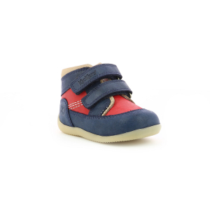 Kickers BINS-2 NAVY RED OFF WHITE
