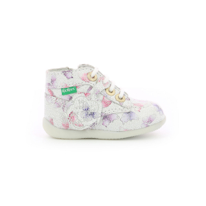 Kickers BONZIP-2 WHITE BUTTERFLY