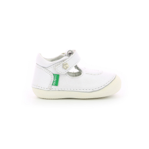Kickers SALOME METALLISED WHITE