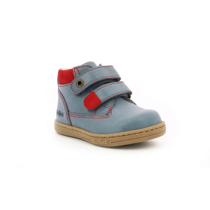 Kickers TACKEASY BLEU ROUGE