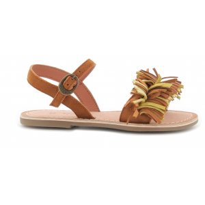 Kickers DIXFROUFROU KID CAMEL YELLOW
